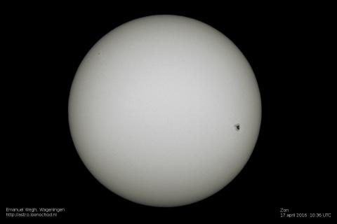 sunspot zonnevlek ar2529